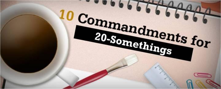 10 Commandments 20 Somethings
