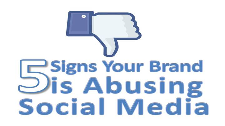 5 Signs Social Media Abuse - Adrian Parker Intuit